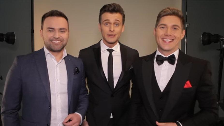 Mannelijk trio presenteert Eurovisie Songfestival 2017