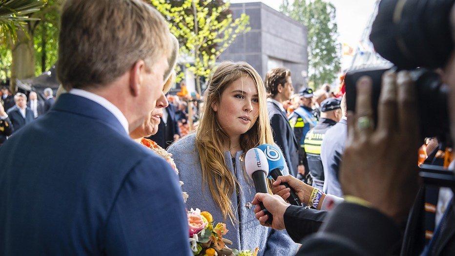 Videosnack: prinses Amalia's eerste uitgebreide tv-interview