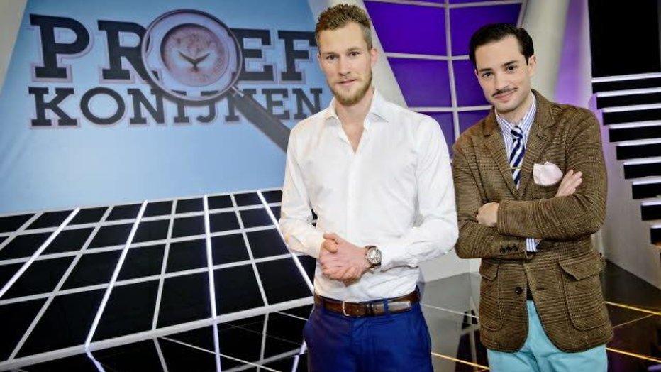 Dennis en Valerio presenteren wetenschapsprogramma Proefkonijnen
