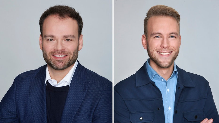 Maarten Steendam en Wolter Klok