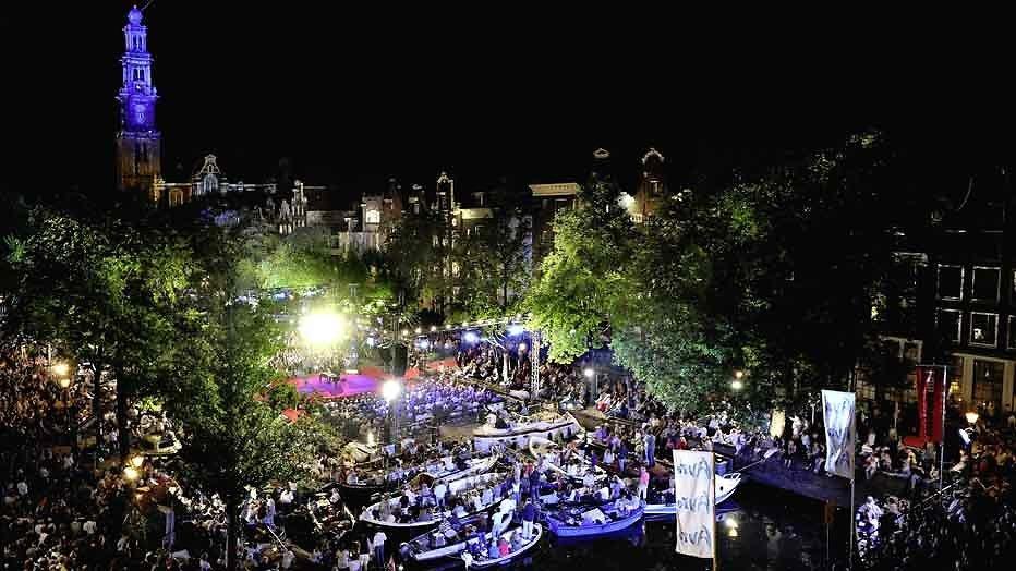 Hoofdprogramma Prinsengrachtconcert bekend