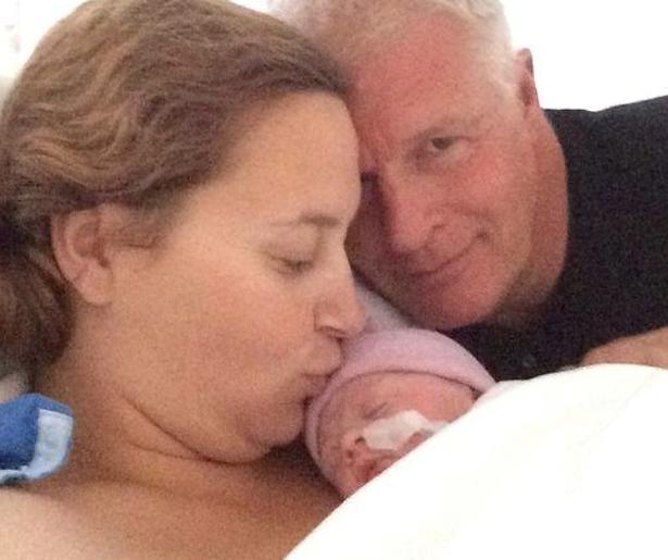 Baby voor Peter Jan Rens: de eerste foto