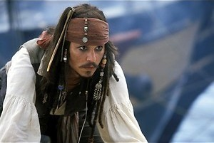 Rockpiraat Johnny Depp