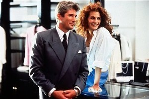 Richard Gere huurt Julia Roberts