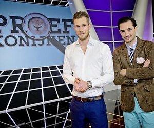 Dennis en Valerio tasten in het duister in Proefkonijnen