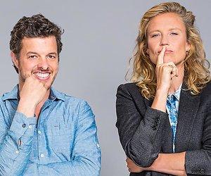 Filemon Wesselink en Sophie Hillbrand na elf jaar weer presentatieduo