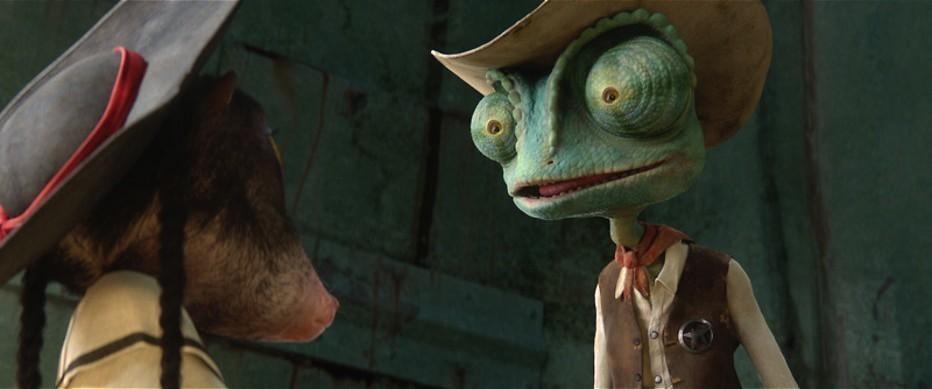 Johnny Depp als dappere kameleon