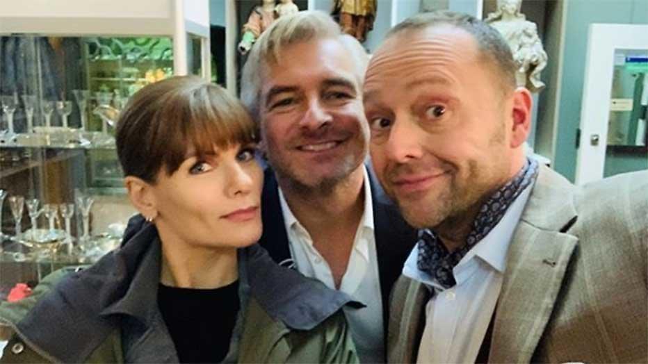 Angela, Victor en Richard Groenendijk