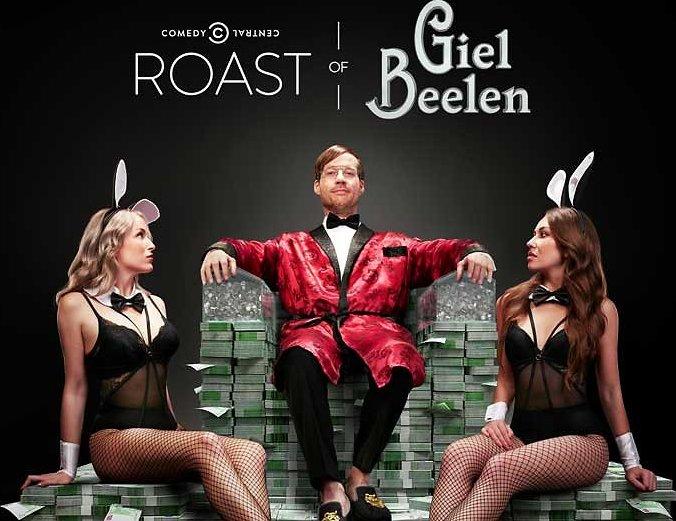 De TV van gisteren: 603.000 voor de Roast of Giel Beelen