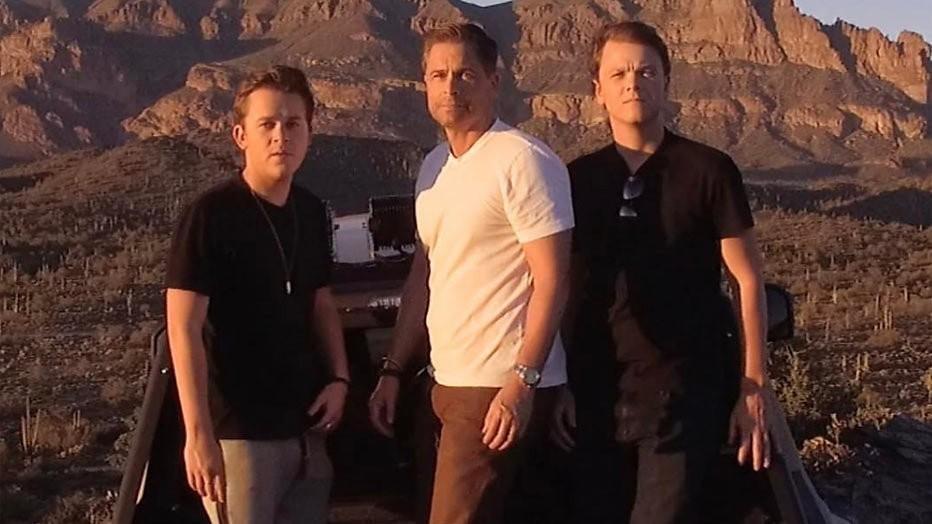 Rob Lowe gaat samen met zoons op zoek naar legendes in The Lowe Files