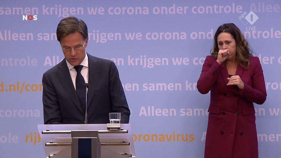 Mark Rutte en Irma Sluis