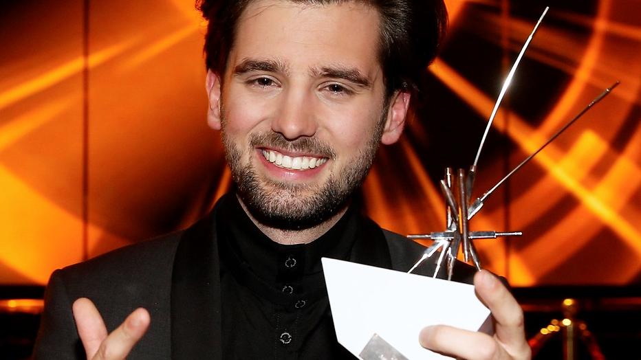 Ruud Feltkamp wint Televizier Aanstormend Talent Award 2014