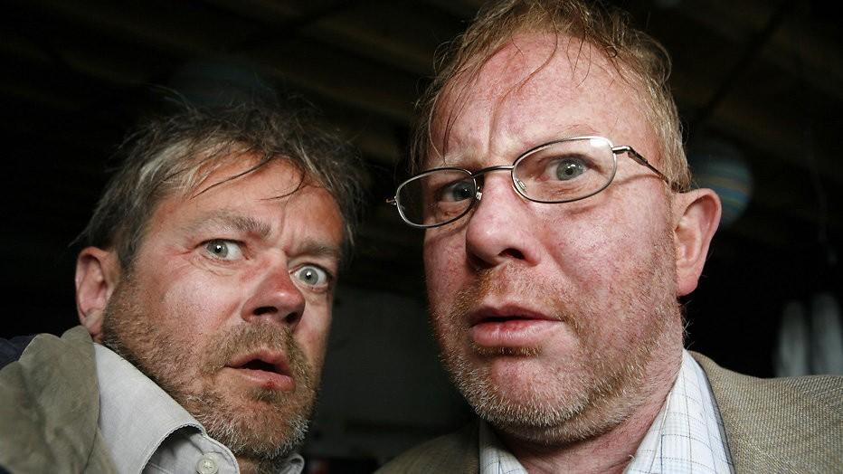 George van Houts en Pieter Bouwman