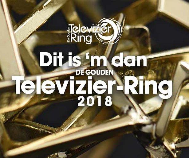 Dit is de Gouden Televizier-Ring van 2018
