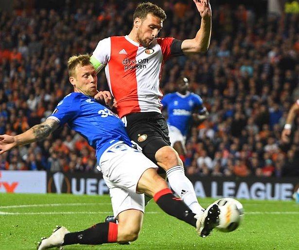 De TV van gisteren: RTL7 beleeft topavond door Europa League-voetbal