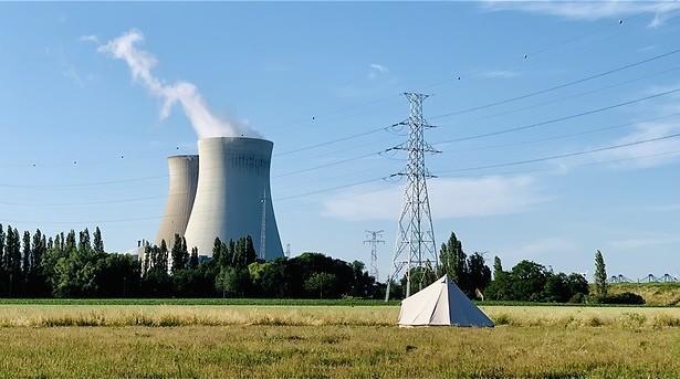 Spookdorp naast de kerncentrale
