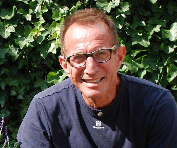 Voormalig tv-tuinman Rob Verlinden heeft longfibrose en is blind aan rechteroog