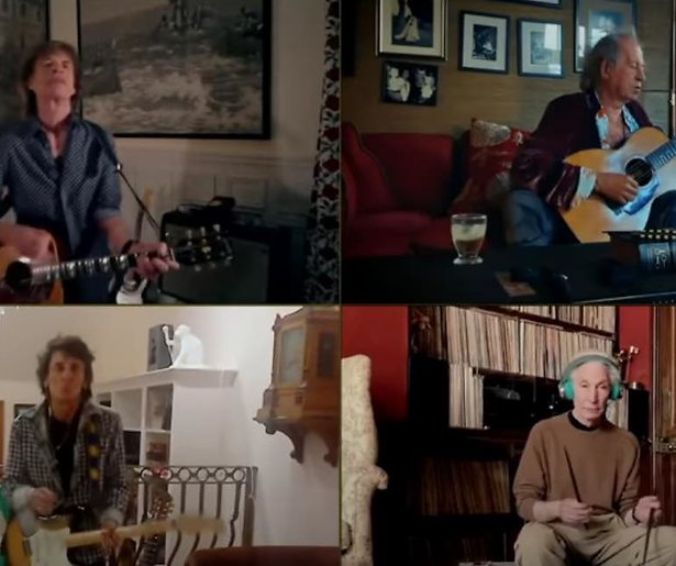 The Rolling Stones in One World: Together at Home