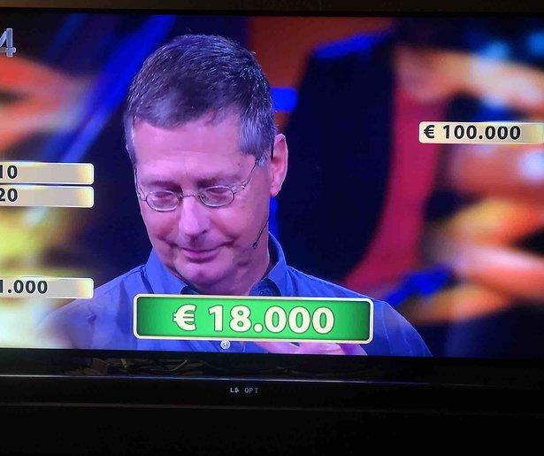 Hebberige Miljoenenjacht-winnaar krijgt deksel op de neus
