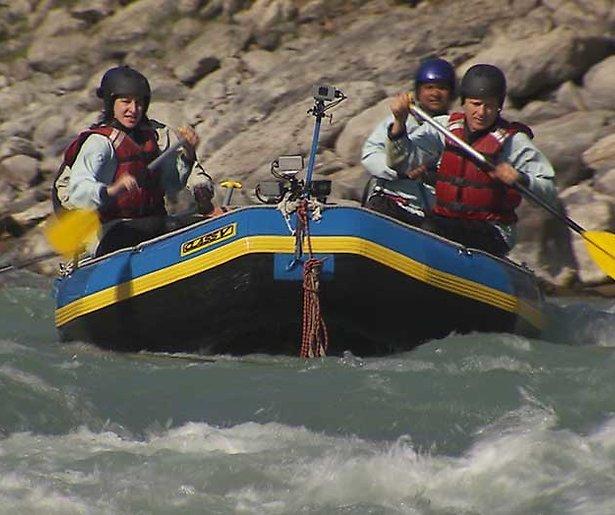 Risky Rivers: wildwatervaren met BN'ers