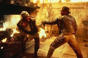 Indiana Jones strijdt tegen de nazi's
