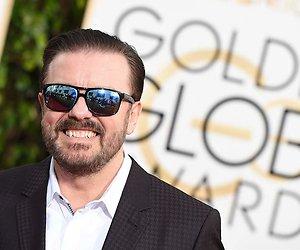 Ricky Gervais presenteert voor vijfde keer Golden Globes