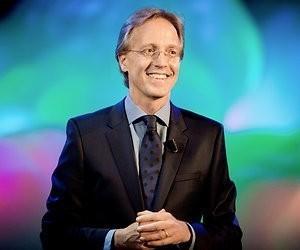 Robbert Dijkgraaf geeft DWDD-college over licht