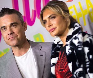 Robbie Williams en vrouw Ayda coaches in de Britse X Factor