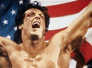 Dolph Lundgren beukt Sylvester Stallone in elkaar