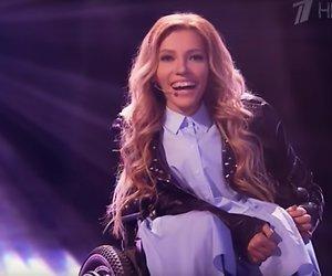 Rusland gaat Songfestival-strijd aan met zangeres in rolstoel