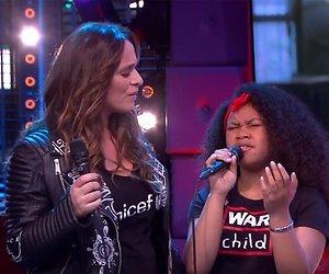 Videosnack: Trijntje en The Voice Kids-winnares Yosina ontroeren met liedje voor Dodenherdenking
