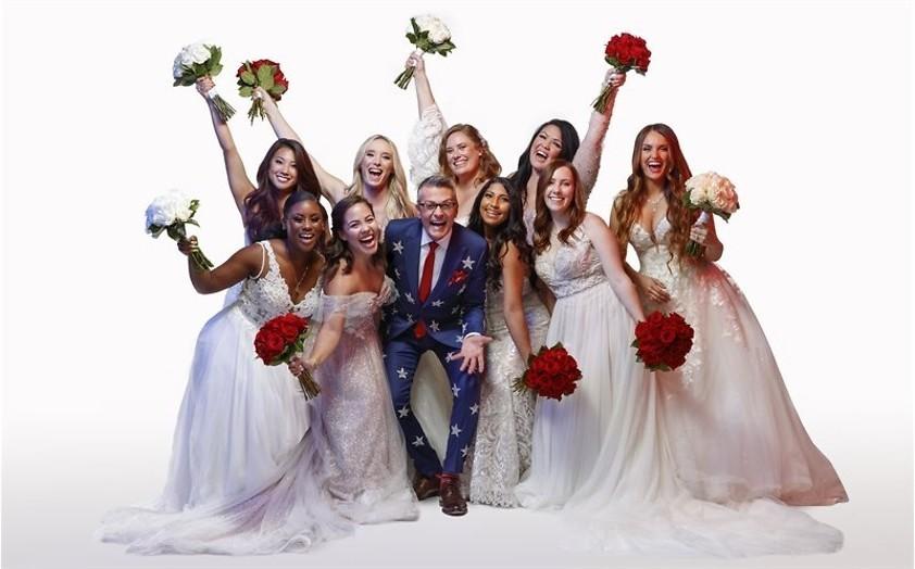 Bruidsjurkenreis door Amerika