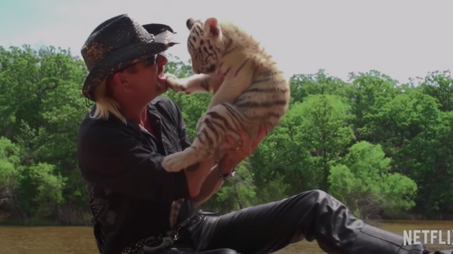 Er komt een 'Tiger King' film