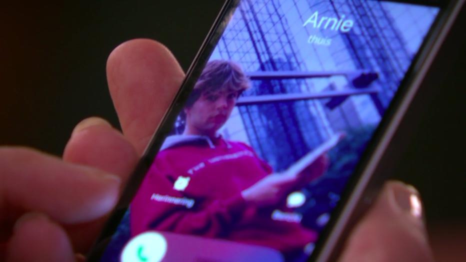 Telefoon met Arnie Alberts