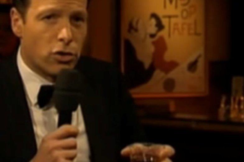 Herman van der Zandt zingt Frank Sinatra