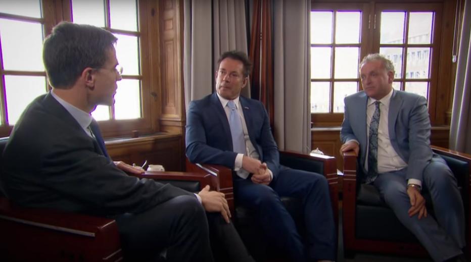 Geer en Goor mochten niet in discussie met premier Rutte