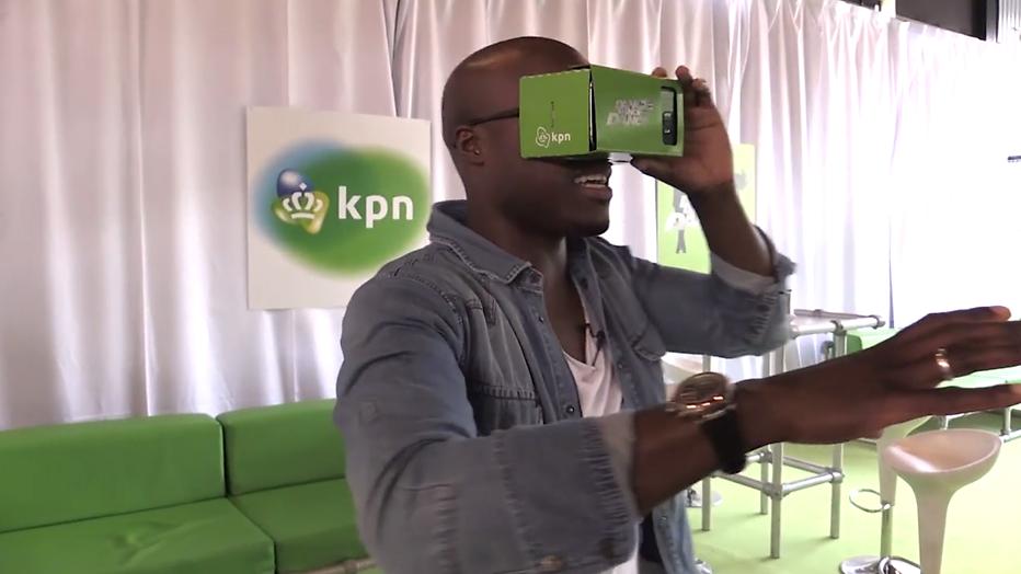 Dance dance dance te zien met virtual reality-bril