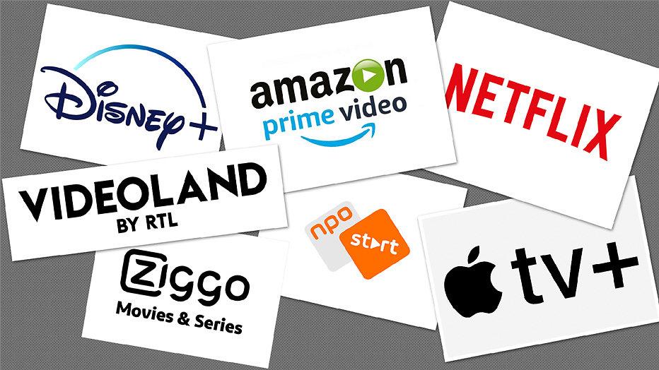 Dit zijn alle streamingsdiensten in Nederland