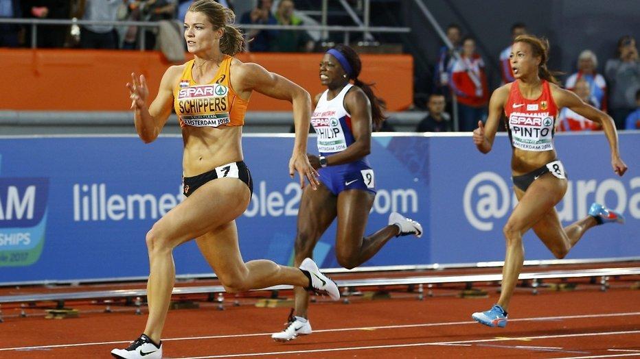Kijktip: Dafne in finale 100 meter sprint