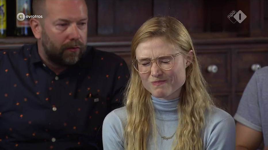 Sigrid ten Napel vierde afvaller Wie is de Mol? 2017