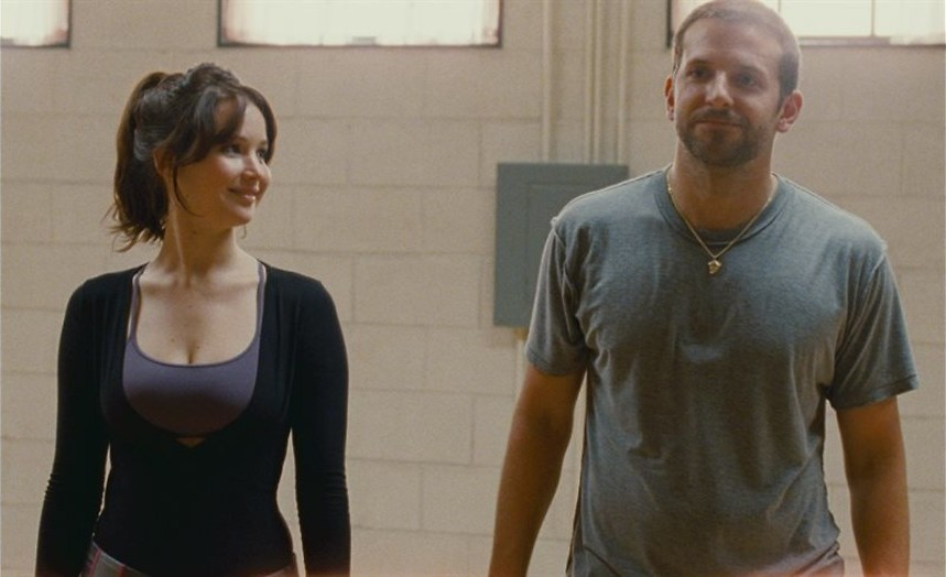 Bradley Cooper in een vuilniszak