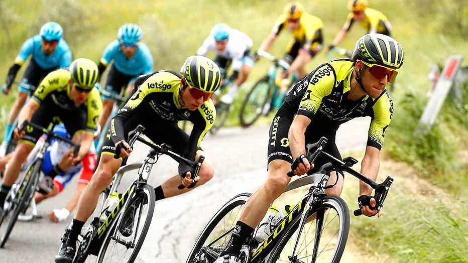 Renners steken over in Giro