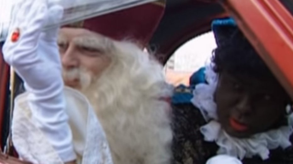 YouTube hit: Robert ten Brink en Paul de Leeuw als Sint & Piet