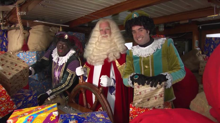 Sinterklaasjournaal 2016: Er zijn ook Zwarte Pieten bij