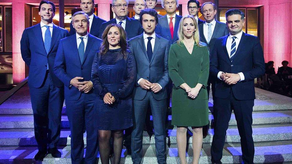 De TV van gisteren: 1,6 miljoen voor Slotdebat Verkiezingen