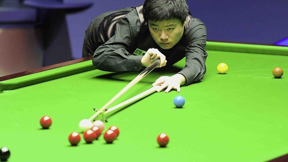 Snookeraars aan de slag in China