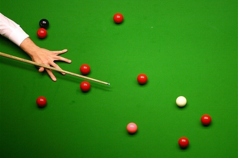 Snookeren in Belfast in Snooker