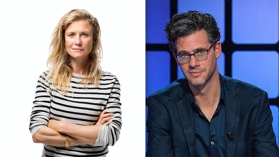 Sophie Hilbrand en Erik Dijkstra