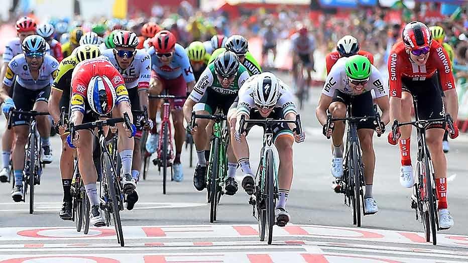 Lange, lange rit naar Guadalajara in de Vuelta