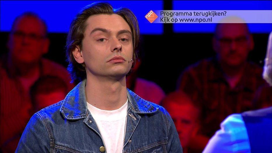 Stefano Keizers stoot door naar finale Slimste Mens